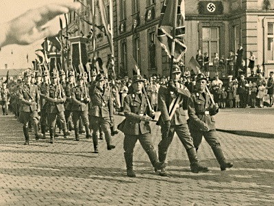 Nazi rally in Fulda in 1933